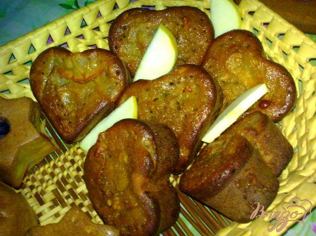 Рецепт Кексы с яблочным вареньем