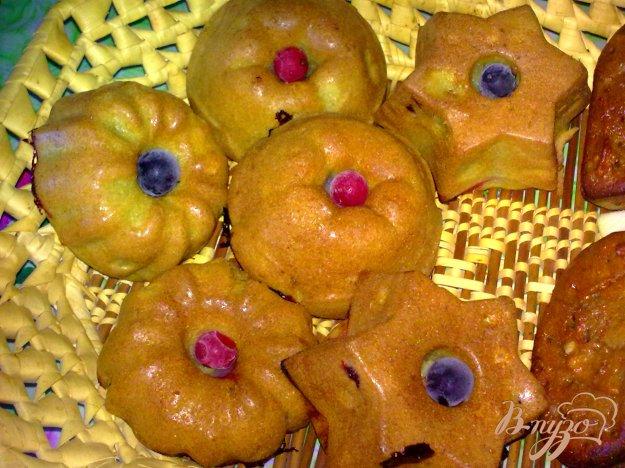 Рецепт Кексы со смородиной и имбирем
