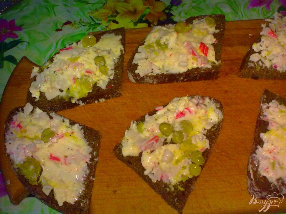 Фото приготовление рецепта: Бутерброды горячие шаг №6
