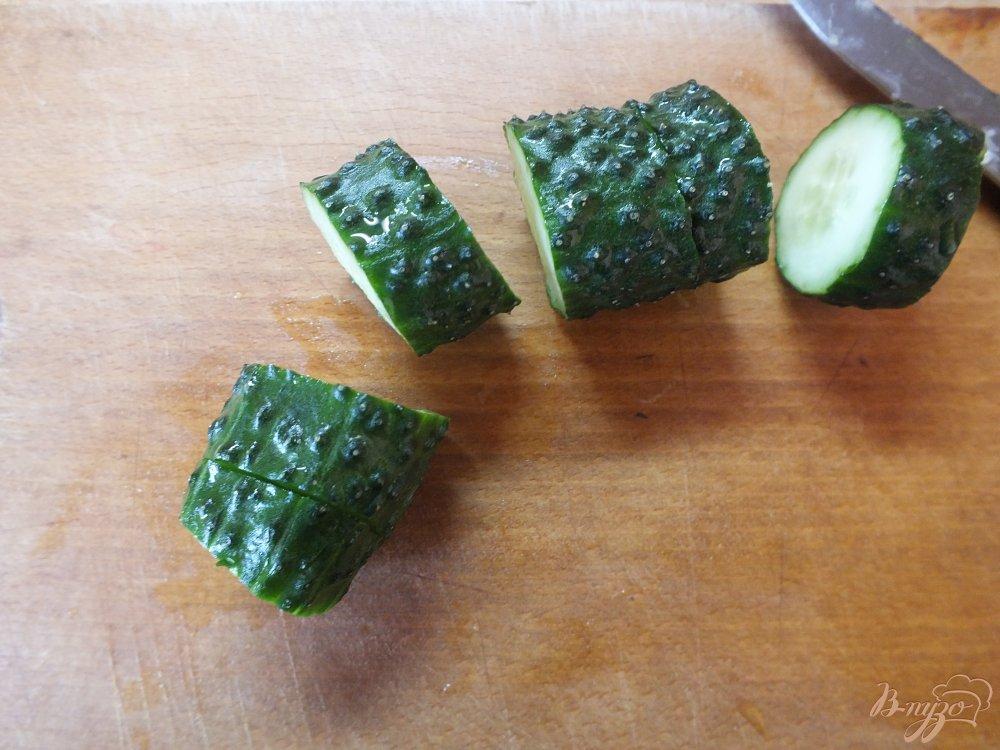 Фото приготовление рецепта: Холодный суп-пюре из печеных овощей и лаваша шаг №3