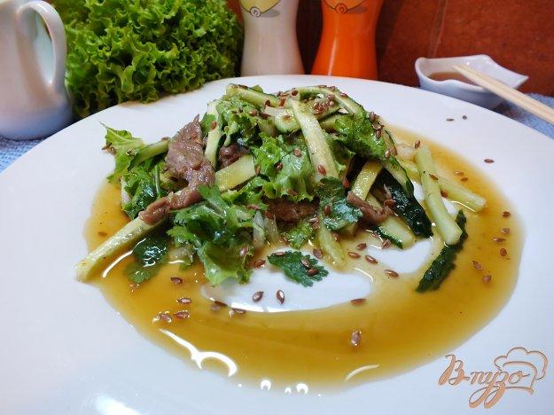 Рецепт Салат с сырой говядиной по-тайски