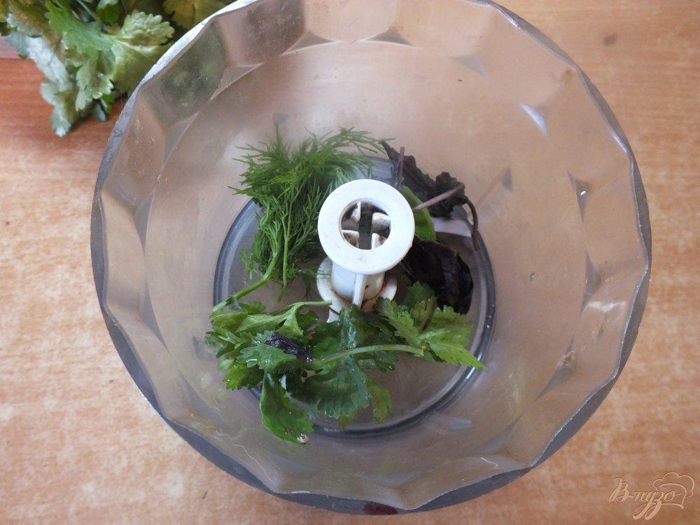 Фото приготовление рецепта: Гаспачо с соком лайма шаг №3