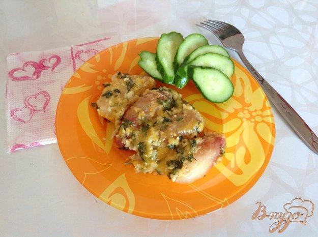 Рецепт Картофель запеченный в чесночном масле