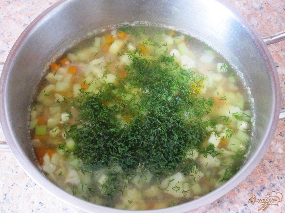 Фото приготовление рецепта: Суп-пюре с говядиной шаг №8
