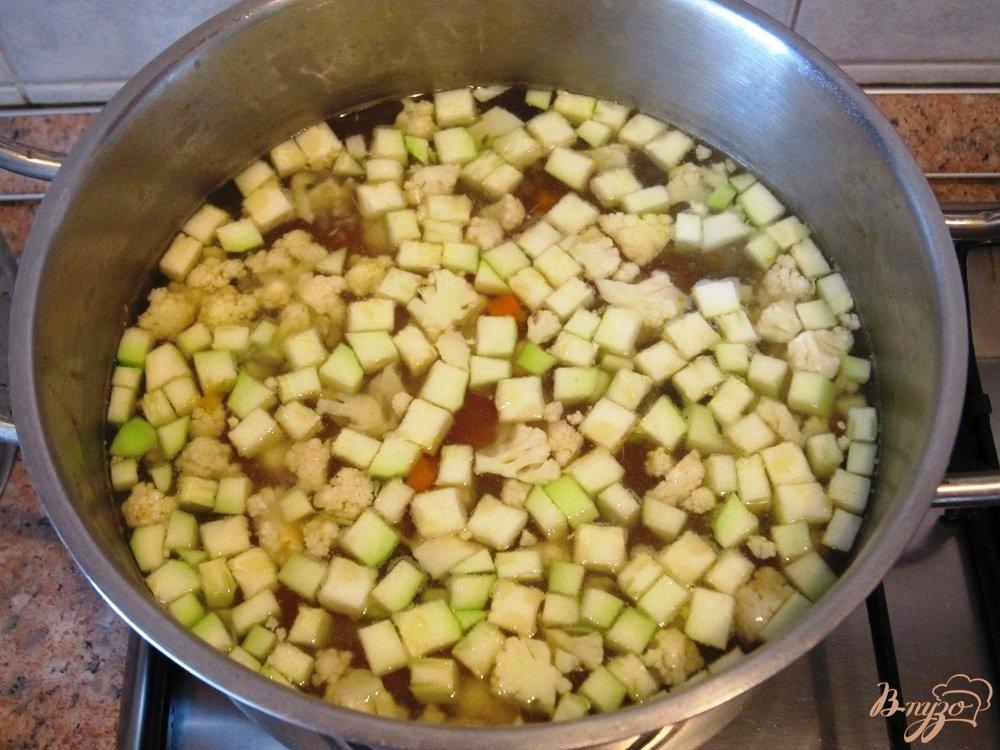Фото приготовление рецепта: Суп-пюре с говядиной шаг №7