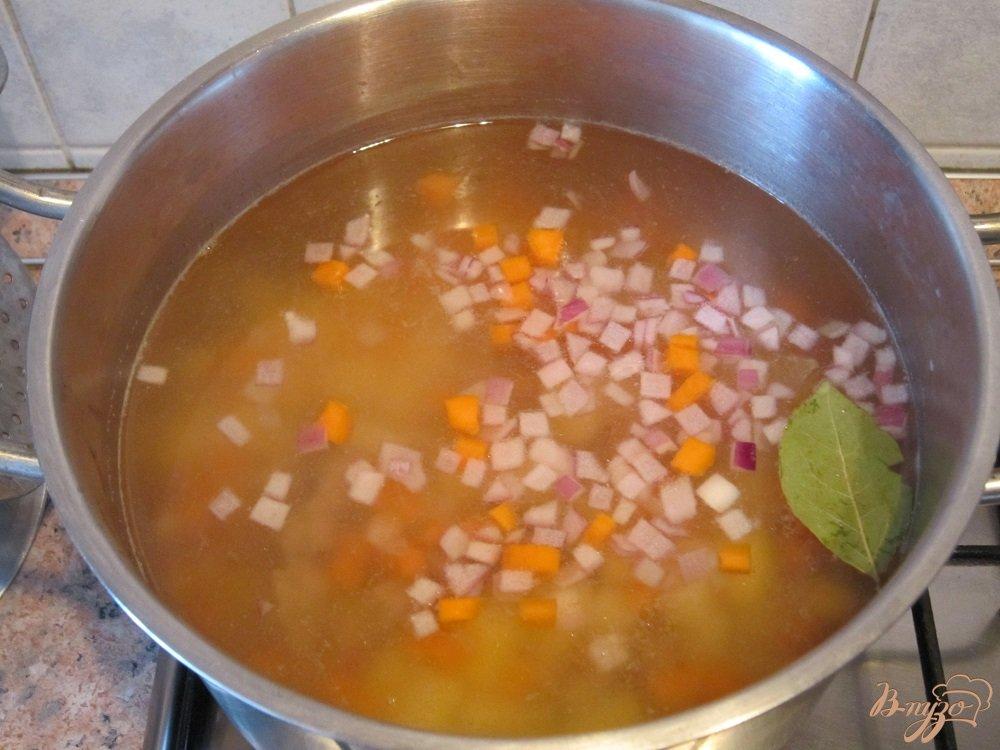 Фото приготовление рецепта: Суп-пюре с говядиной шаг №5