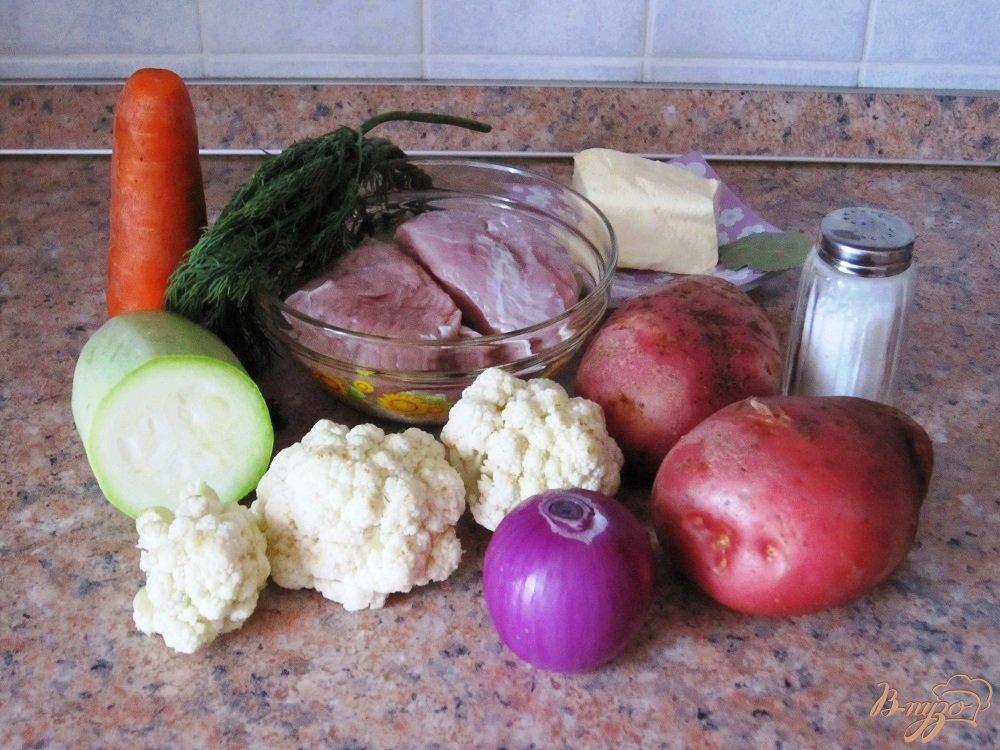 Фото приготовление рецепта: Суп-пюре с говядиной шаг №1