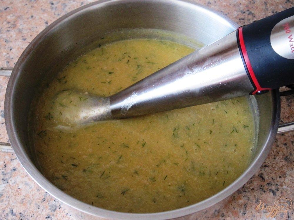 Фото приготовление рецепта: Суп-пюре с говядиной шаг №9