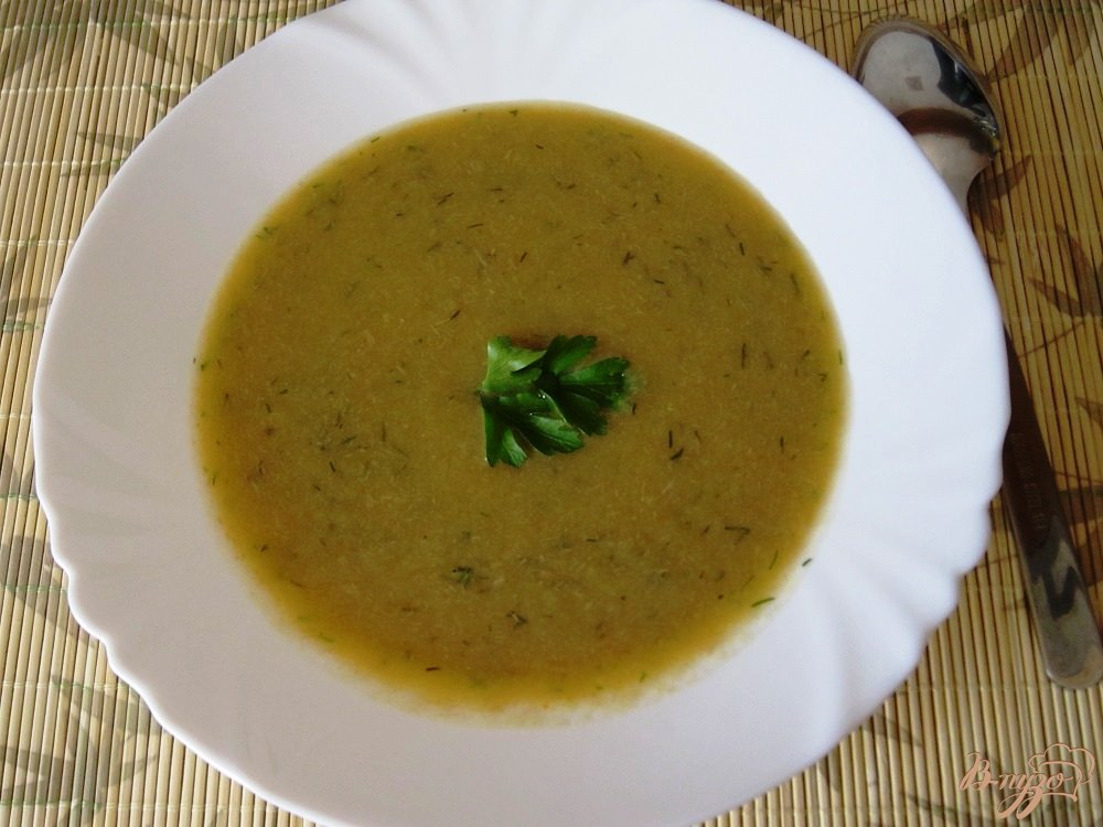 Фото приготовление рецепта: Суп-пюре с говядиной шаг №10