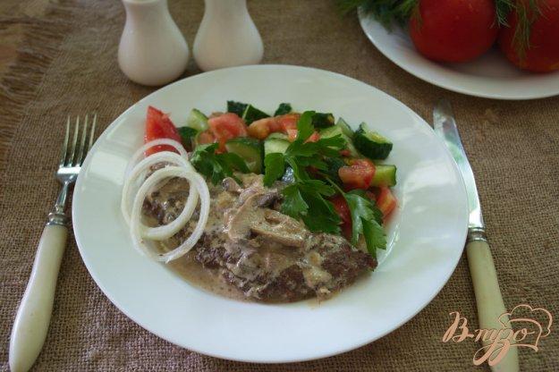 Рецепт Говяжий люля-кебаб с моцареллой