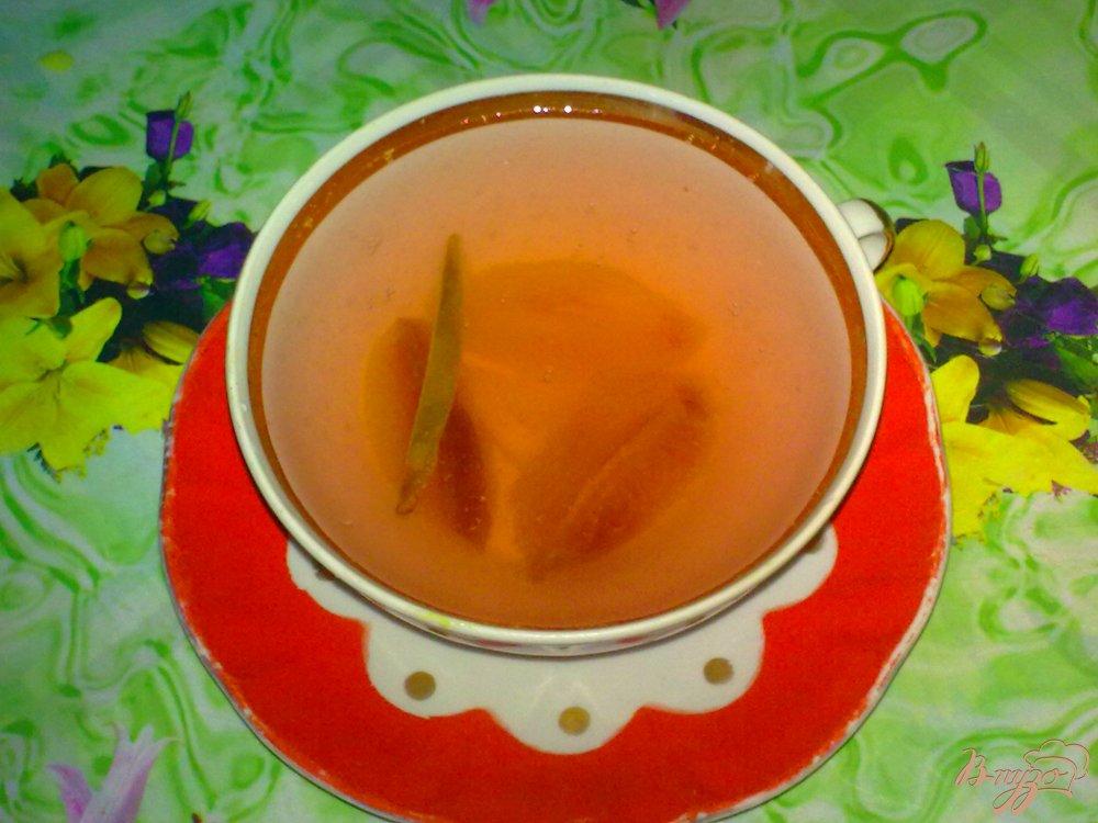 Фото приготовление рецепта: Компот из слив и лимона шаг №5