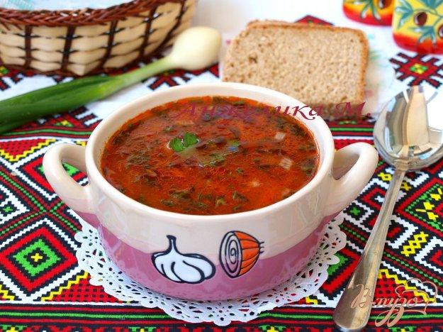 Рецепт Рисовый суп с томатом