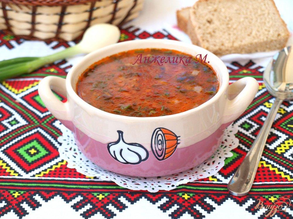 Фото приготовление рецепта: Рисовый суп с томатом шаг №4