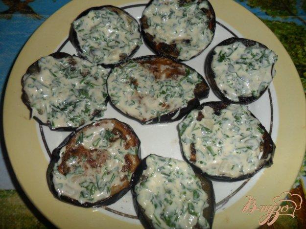 Рецепт Баклажаны с петрушкой и чесночным соусом