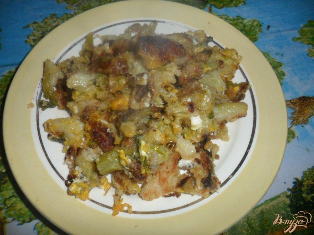 Фото приготовление рецепта: Цветная капуста шаг №6