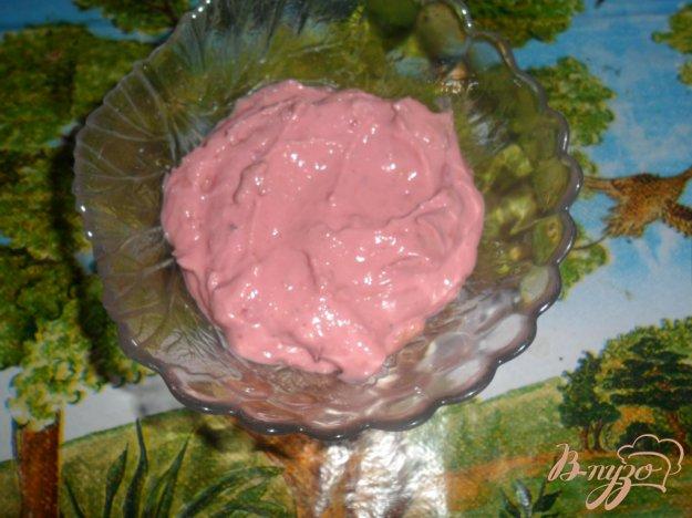 фото рецепта: Детский творожный завтрак с вишнями
