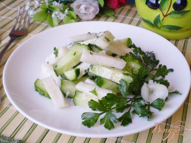 Фото приготовление рецепта: Осенний салат шаг №5