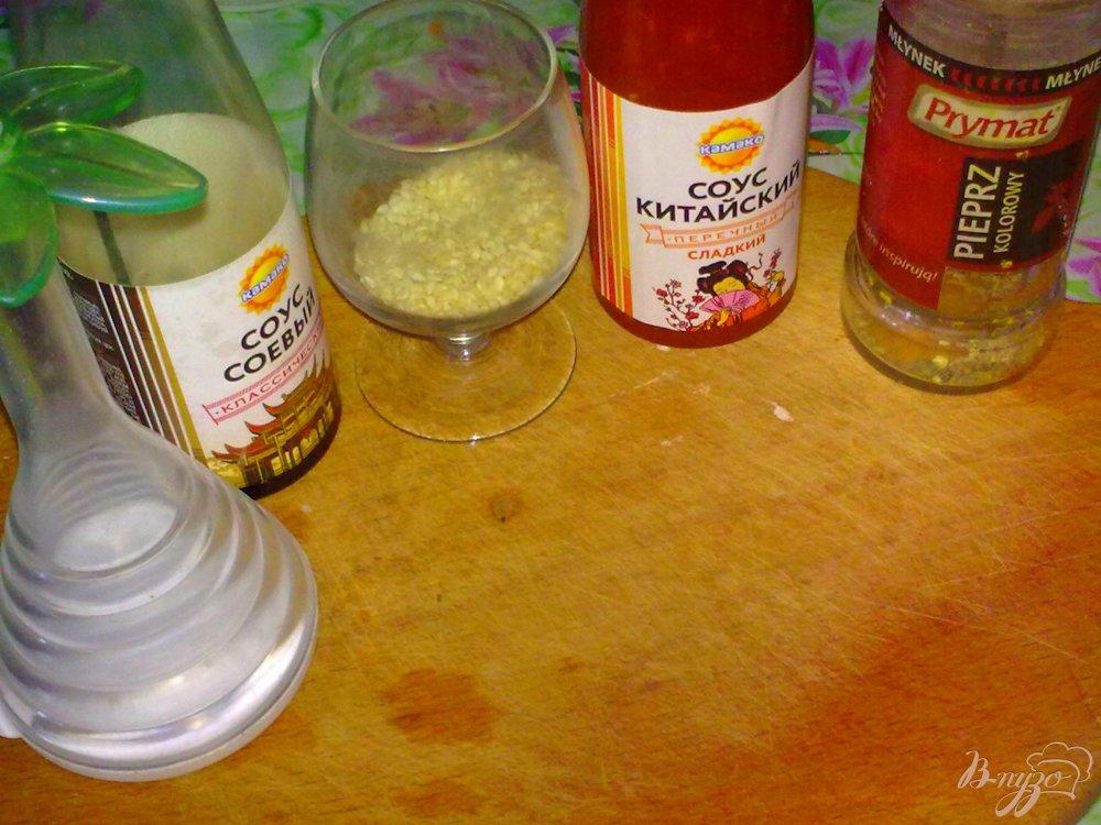 Фото приготовление рецепта: Брокколи в остром соусе шаг №2