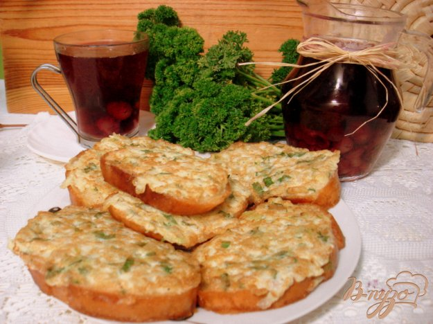 Рецепт Луково-яичные бутерброды