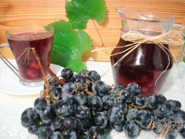 фото рецепта: Компот из винограда  *Изабелла*