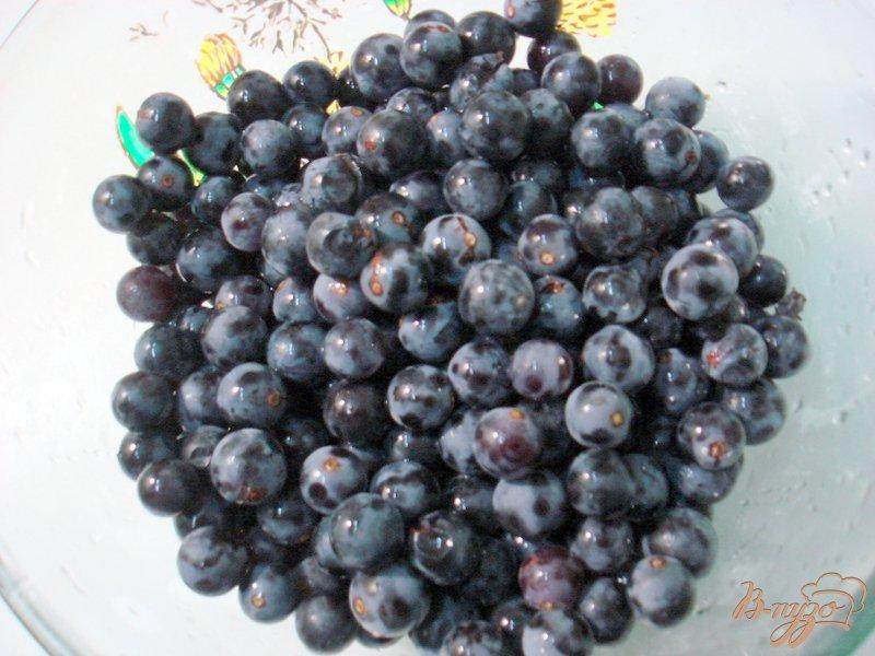 Фото приготовление рецепта: Компот из винограда  *Изабелла* шаг №3