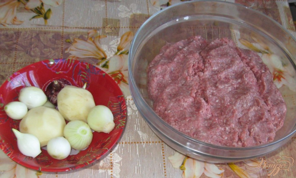 Фото приготовление рецепта: Домашние паровые пельмени шаг №1
