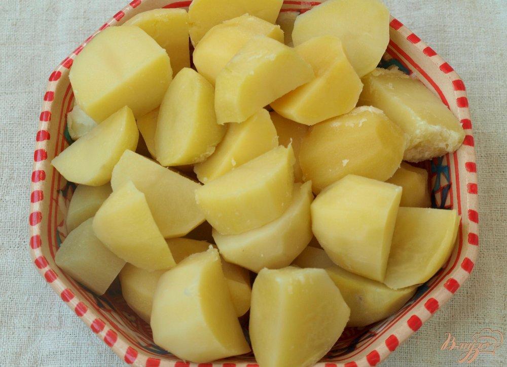 Фото приготовление рецепта: Картофель,приготовленный со специями шаг №1