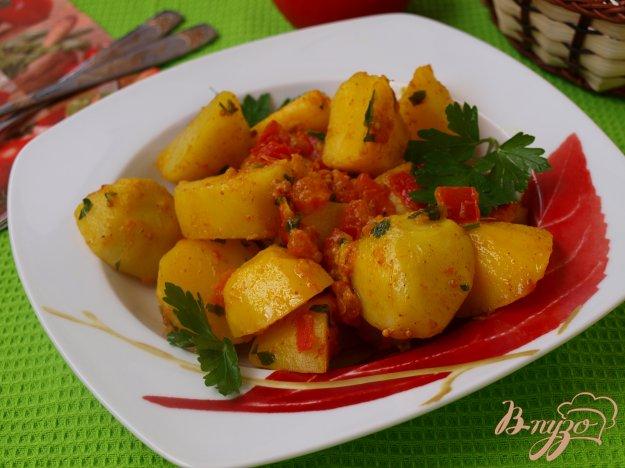 Рецепт Картофель,приготовленный со специями