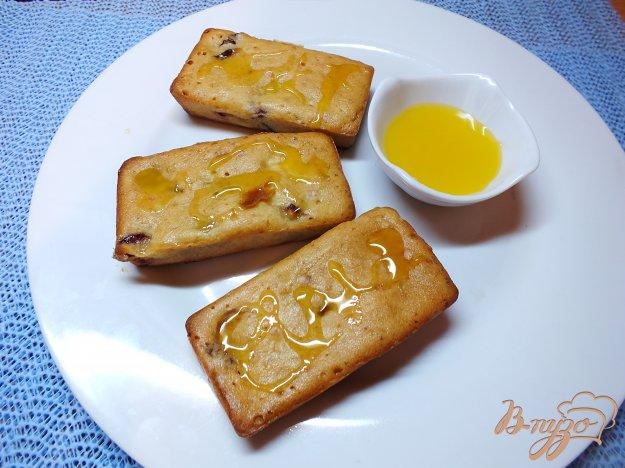 Рецепт Сливовые кексы с творогом и медом
