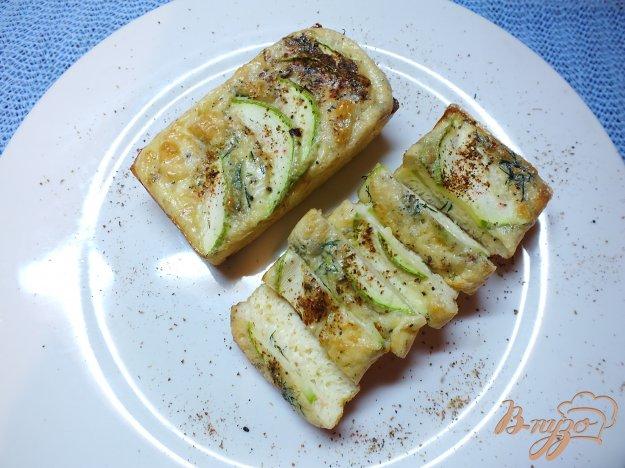фото рецепта: Творожная фритата с кабачком