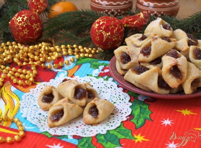 Фото приготовление рецепта: Колачки - польское печенье шаг №6