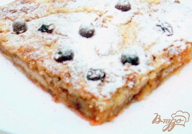 Рецепт Пирог яблочный насыпной