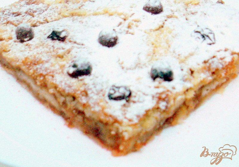 Фото приготовление рецепта: Пирог яблочный насыпной шаг №8