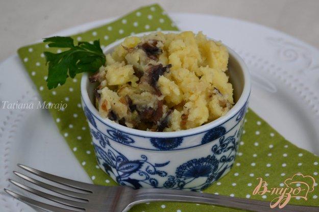Рецепт Давленый картофель с грибами