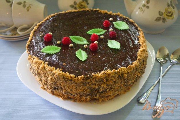 Рецепт Карамельный торт с шоколадным кремом
