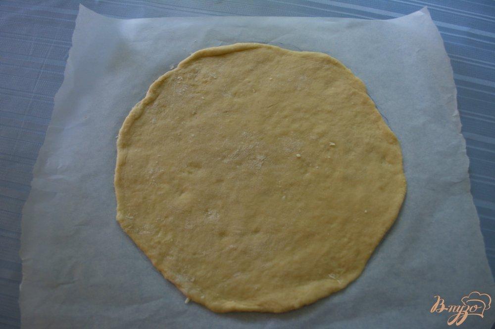 Фото приготовление рецепта: Карамельный торт с шоколадным кремом шаг №8