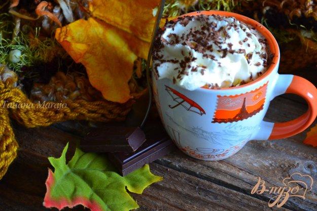 Рецепт Кофе с имбирем, шоколадом и взбитыми сливками