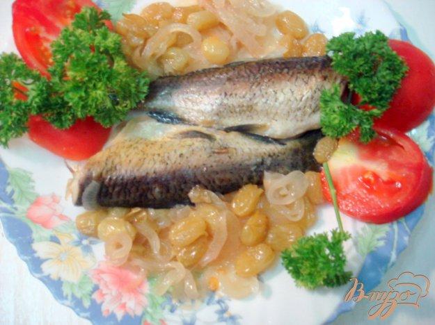 фото рецепта: Белый амур под винно- виноградным соусом