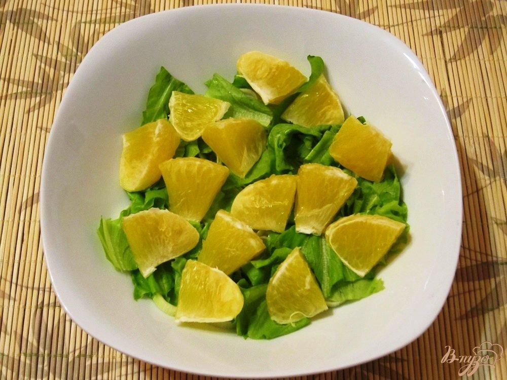 Салат печень с апельсинами рецепт с
