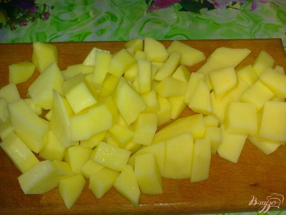 Фото приготовление рецепта: Суп сырный шаг №1