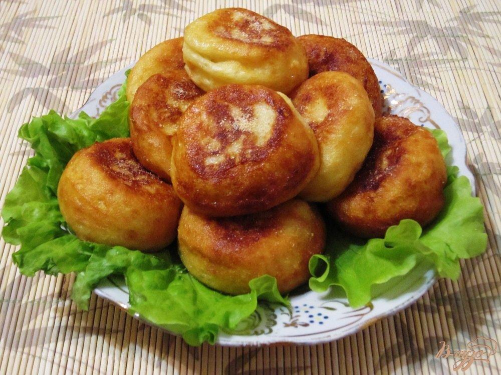 Фото приготовление рецепта: Картофельные шарики шаг №7