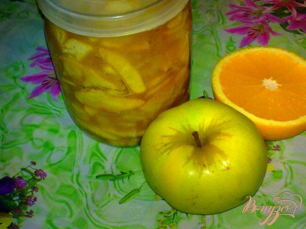 Рецепт Яблочное варенье с апельсином