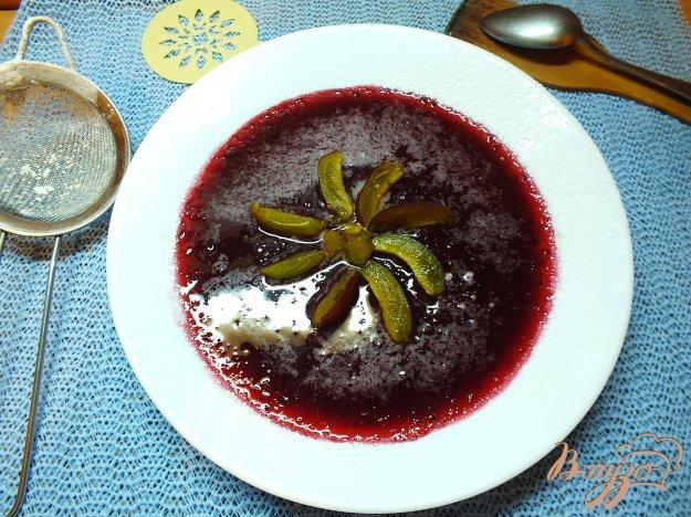 Рецепт Кисель из сливы и черной смородины