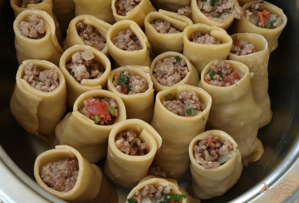 Фото приготовление рецепта: Бораки - пельмени по-армянски шаг №5