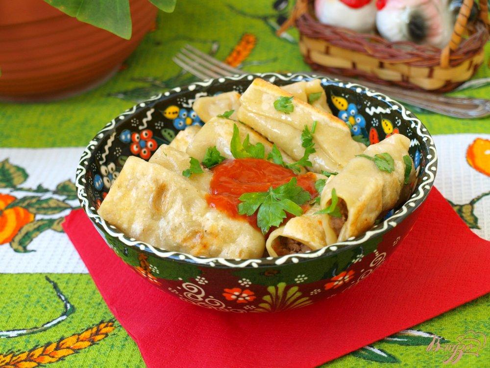 Фото приготовление рецепта: Бораки - пельмени по-армянски шаг №7