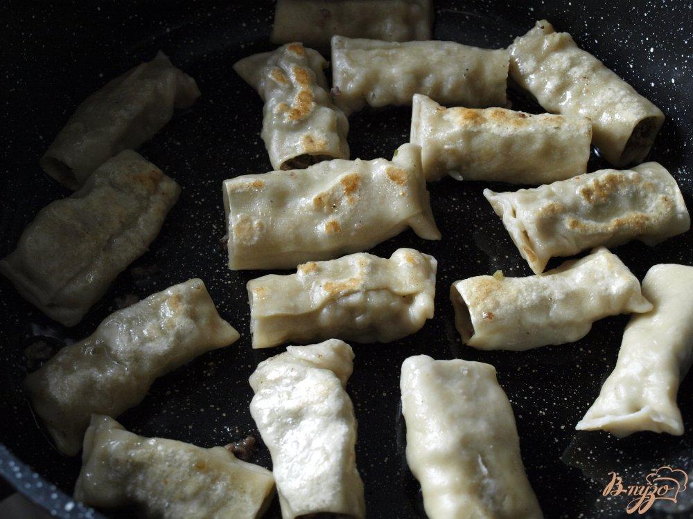 Фото приготовление рецепта: Бораки - пельмени по-армянски шаг №6