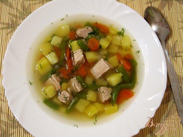 Рецепт Мясной суп с овощами
