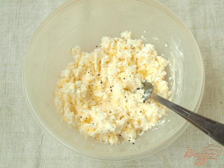 Фото приготовление рецепта: Картофель с творогом шаг №2