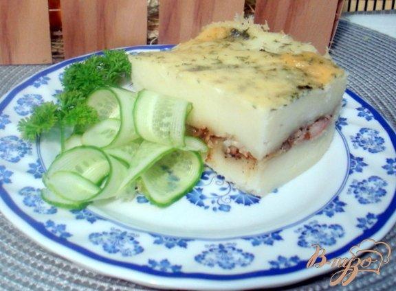 фото рецепта: Картофельная запеканка с мясом