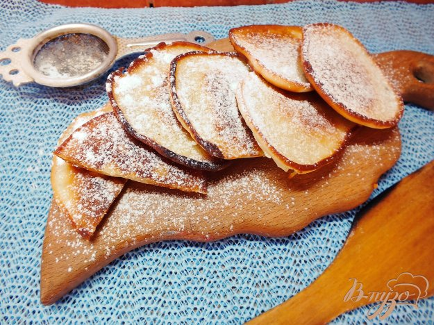 Рецепт Оладьи на персиковом йогурте
